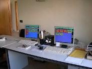 sala telecomando e telecontrollo